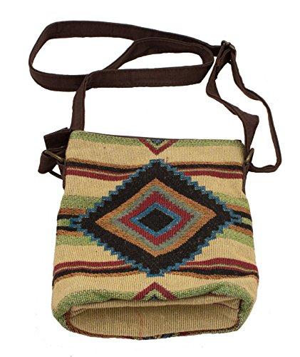 inches Bag Woven 9x8x2 Blanket Chief Crossbody XqYw4WP