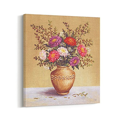 CanvasBees - Flowers - Canvas Prints Wall Art for Home Decor -
