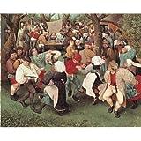 """Editions Ricordi 2901N16172G  - De oro """"de Bruegel el campesino Dance"""" 1500 rompecabezas pieza"""