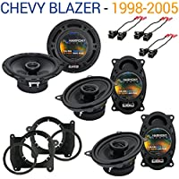 Chevy Blazer 1998-2005 Factory Speaker Upgrade Harmony (2)R46 R65 Package New