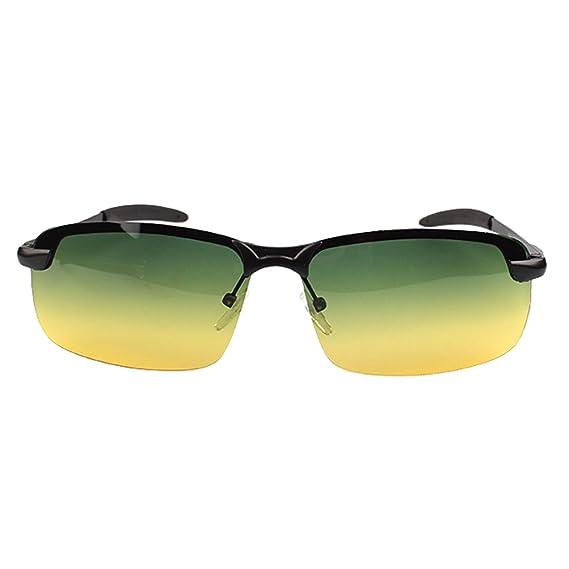 LINNUO Gafas de Sol Hombre Mujer Aviador Polarizadas Gafas ...