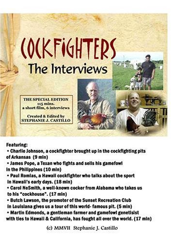 (COCKFIGHTERS: SPECIAL EDITION (Institutional Version) by Joe Z, Martin Edmonds, Charlie Johnson, Johnnie Jumper James Pope)