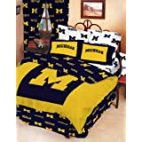 College Covers Michigan Wolverines Bed in a Bag, Queen
