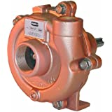 AMT 3682-98 Straight Centrifugal Pedestal Pump, 300 Series SS, SS Impeller, Viton Seal, 1/2hp Min