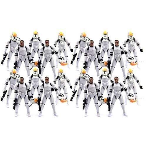Lot 20 Star Clone Pilot TROOPER 501st action Figure