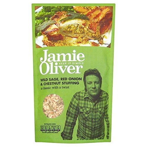Jamie Oliver Wild Perspicacious, Red Onion & Chestnut Stuffing Mix - 110g