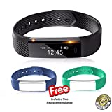 Smart Bracelet By Chandler-Kellen Sports VeryFit, Fitness Tracker Wristband...