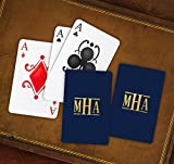 American Stationery Monogram Personalized Playing Cards - 3995M