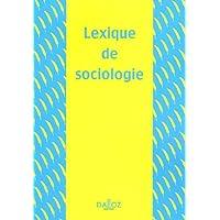 SOCIOLOGIE 1E LEXIQUE