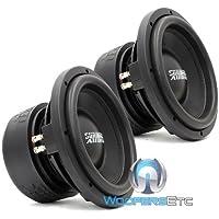 Pair of SA-10 D2 - Sundown Audio 10 Dual 2-Ohm SA Series Subwoofer SA10D2