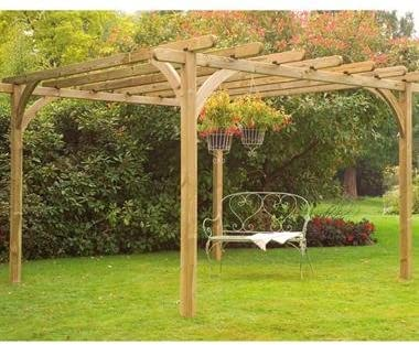 Garden Central - Pérgola (305 x 305 cm): Amazon.es: Jardín