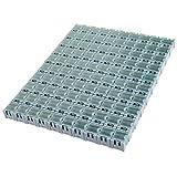 100PCS Electronic Component Parts Case Patch Laboratory Storage Box SMT SMD - Blue