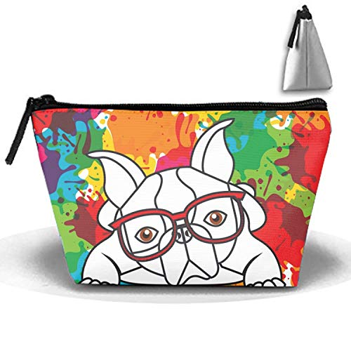 Price comparison product image French Bulldog And Splash Portable Beauty Cosmetic Bag Hanging Storage Sewing Kit