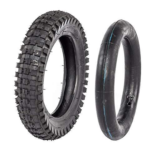 JCMOTO 12 1/2 x 2.75 (12.5 x 2.75) Tire and Inner Tube For Mini Pocket Bikes Razor Dirt Bike Rocket Dune Buggy (Street Tires For Pit Bike)