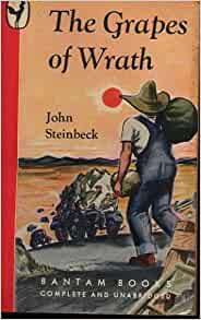 a plot review of john steinbecks novel the grapes of wrath Archives | the screen in review twentieth century-fox shows a flawless film edition of john steinbeck's 'the grapes of wrath,' with.