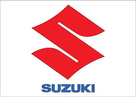 Amazon.com: Logotipo de Suzuki Auto con palabras ...
