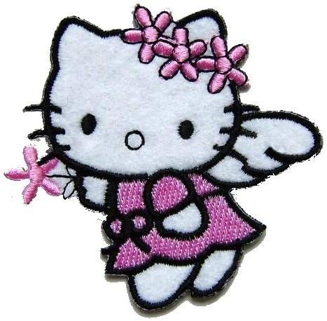 Hello Kitty [diseño de hada con] para coser en la parche adhesivo ...