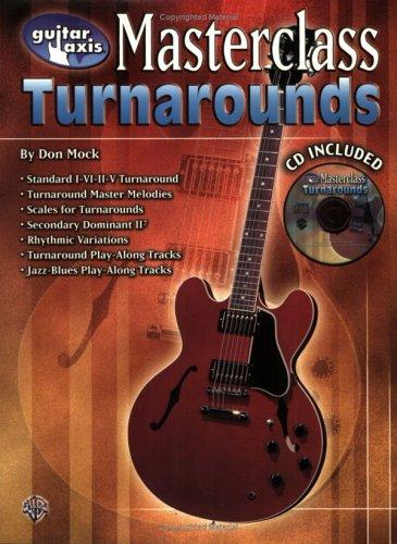 Guitar Axis Masterclass: Turnarounds, Book & CD