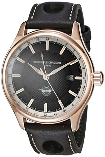 Frederique Constant Men's FC350CH5B4 Analog Display Swiss Automatic Brown Watch