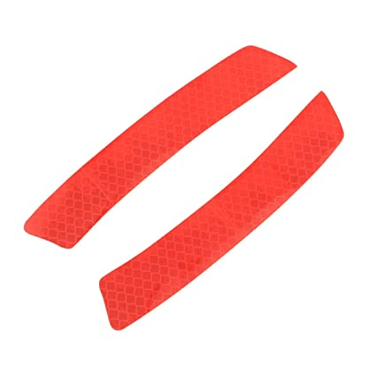 2x Car Safety Reflective Tape Sticker Door Open Warning Sticker Reflector Home, Furniture & DIY