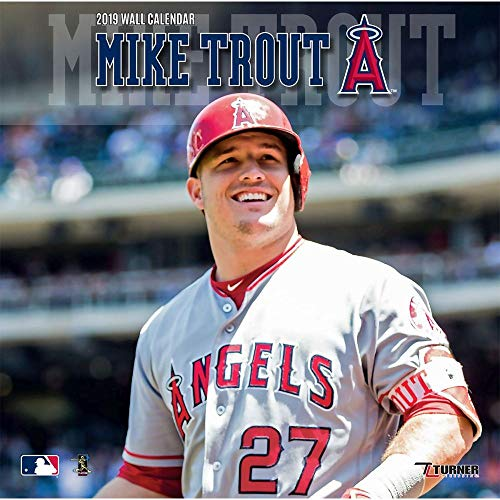 Los Angeles Angels Mike Trout 2019 Calendar