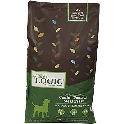 Nature'S Logic Dry Vensn For Dog, 15.4 Lb, 1 Pack