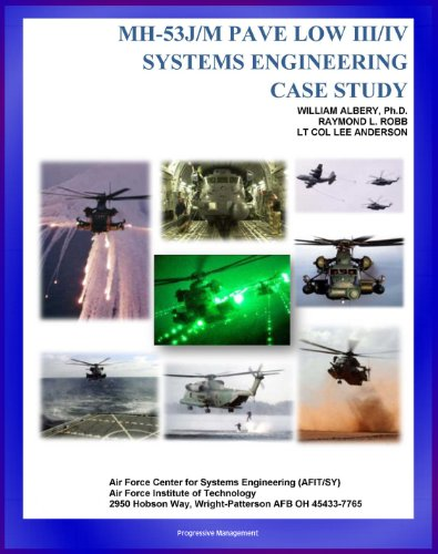 Mh 53j Helicopter - MH-53J/M PAVE LOW III/IV Systems Engineering Case Study - Challenges of Night Rescue and Night Vision; Technical Details and Program History