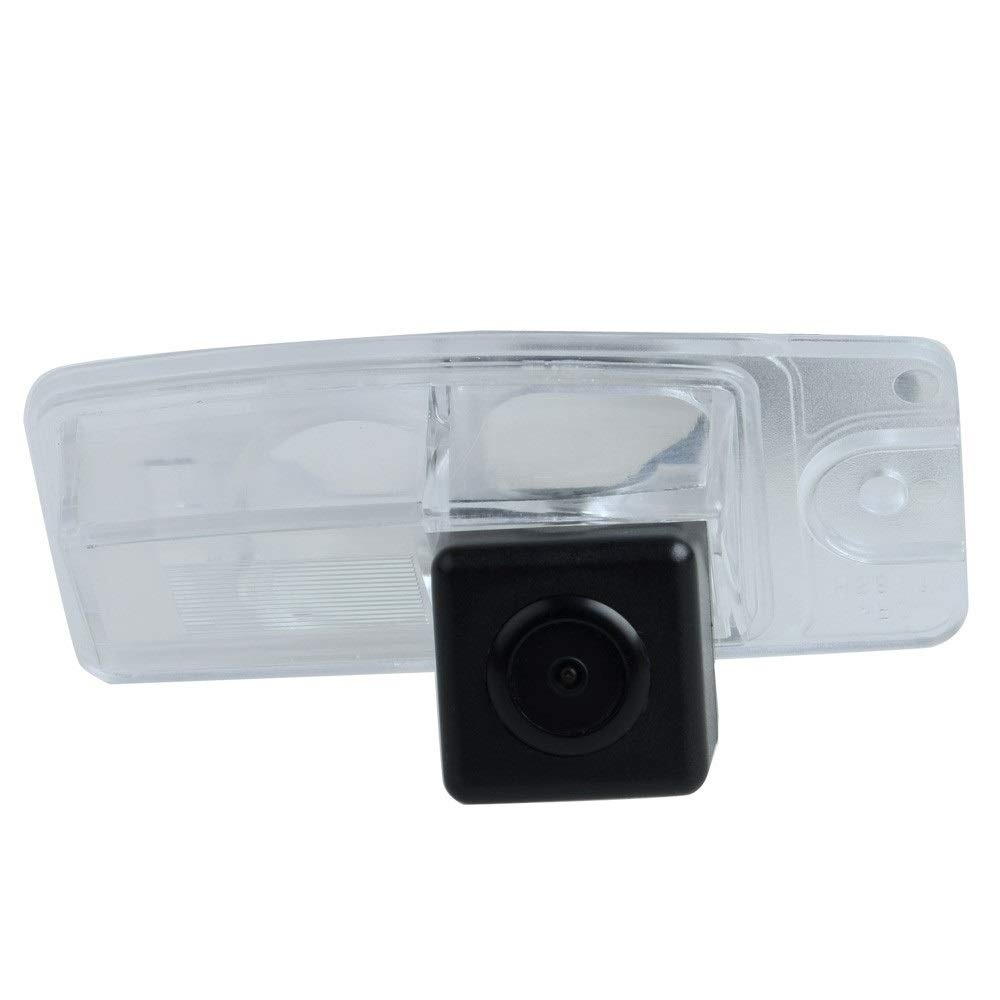Waterproof Rear-View License Plate Rear Reverse Parking Camera for Nissan Murano Z50 MK1 2003~2007// Nissan X-Trail T32 Qashqai J11 Dualis 2014-2017 TUXIN-DIRECT Backup Camera for Car