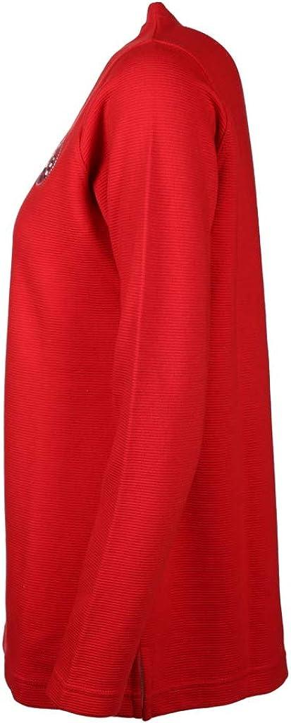 wind sportswear Damen Fein Geripptes Sweatshirt