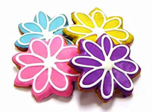 Amazon.com : Pawsitively Gourmet Colorful Blooms Cookies ...
