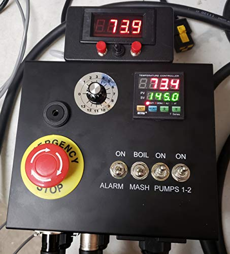 240v HERMS II (Heat Exchanged Recirculating Mash System) Home Brewery Controller by BREW-CONTROL (Image #7)