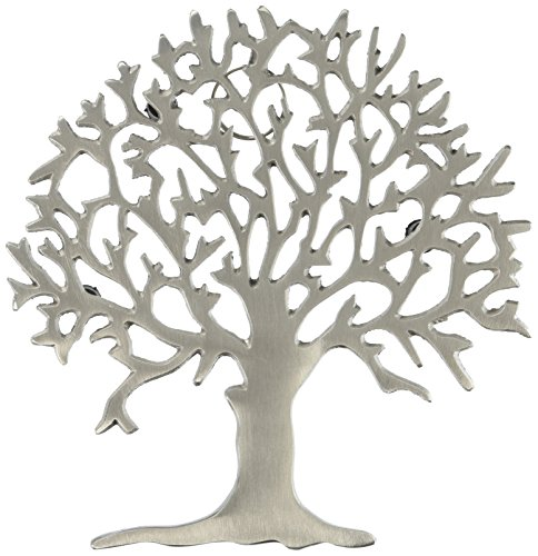 Old Dutch Satin Nickel Tree Trivet by Old Dutch