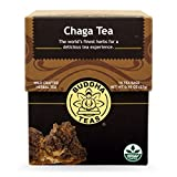 Organic Chaga Tea - Powerful Antioxidants, Wild Harvested, Caffeine Free - 18 Bleach Free Te..