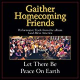 Let There Be Peace On Earth (Original Key Performance Track With Background Vocals)