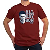 new girl merchandise shirts - CafePress New Girl All Day Son - Men's Fitted T-Shirt, Stylish Printed Vintage Fit T-Shirt