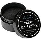 Teeth Whitening Activated Charcoal made - Organic Safe Effective Tooth Whitener Solution for Stronger Healthy Whiter Teeth