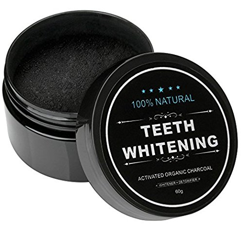 (Teeth Whitening Activated Charcoal made - Organic Safe Effective Tooth Whitener Solution for Stronger Healthy Whiter)
