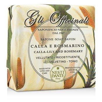Nesti Dante Calla-Lily Rosemary Soap 200 grams Bar by Nesti Dante