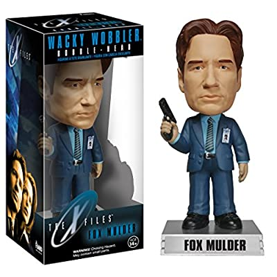 Funko Wacky Wobbler: X-Files Fox Mulder Action Figure: Funko Wacky Wobbler:: Toys & Games