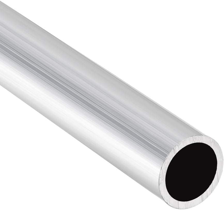 sourcing map 6063 Aluminium Rond Tube 300mm Longueur 14-15mm OD Sans Couture Aluminium Droit Tuyauterie 0mm ID x 14mm OD 3Pcs