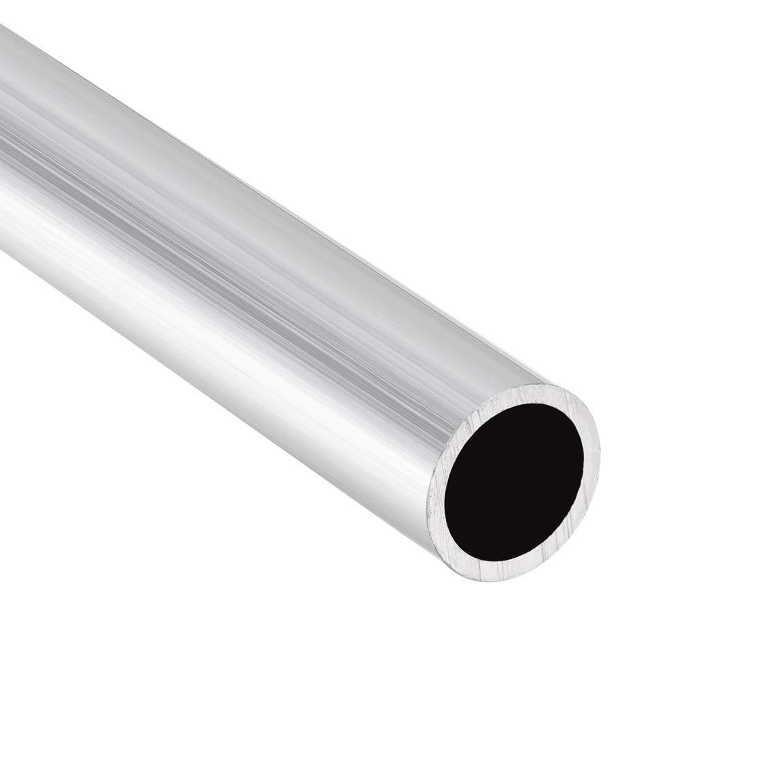 uxcell 6063 Aluminum Round Tube 300mm Length 15mm OD 13mm Inner Dia Seamless Aluminum Straight Tubing 3 Pcs