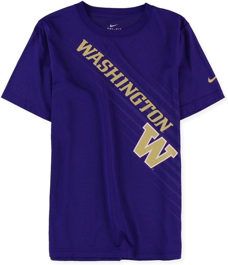 Big Kids Nike Boys Washington Graphic T-Shirt Purple L 8-20