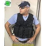 Black Hagor Officer Swat Military Tactical Vest Cordura Combat Harness IDF Israeli