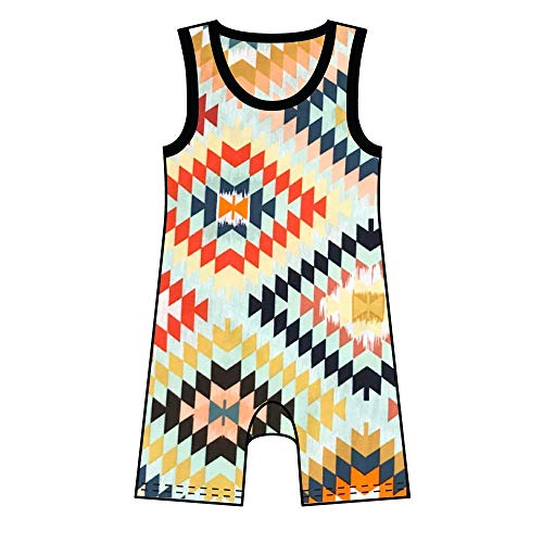 One Playsuit (Southwestern Themed Tank Short Summer All In One Onepiece Jumpsuit Playsuit Unisex)