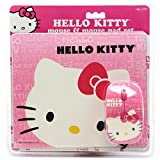 Hello Kitty Mouse and Mouse Pad Set Combo Pink Electronics Computers Accessories