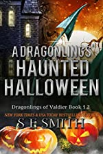 A Dragonling's Haunted Halloween: Science Fiction Romance (Dragonlings of Valider Book 2)