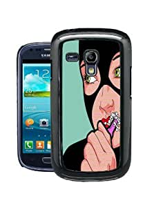 COVER FOR SAMSUNG GALAXY S3 MINI i8190 CATWOMAN POP ART by ruishername