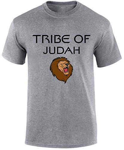 Christian Jesus Christ Bible Verse Faith Scripture T Shirts Tribe of Judah Lion by SuperPraise
