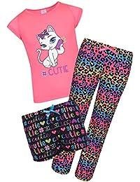 Girl's 3-Piece Spring Pajama Set
