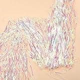 ShinyBeauty Foil Fringe-Backdrop-Transparent